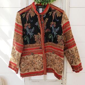Sag Harbor bohemian gypsy Tapestry jacket
